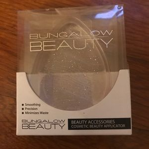 Silicone sparkle sponge/ body shimmer pouf duo NWT